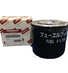 yanmar 119802 55810 119802 55801 fuel filter  [ 3672 x 3672 Pixel ]