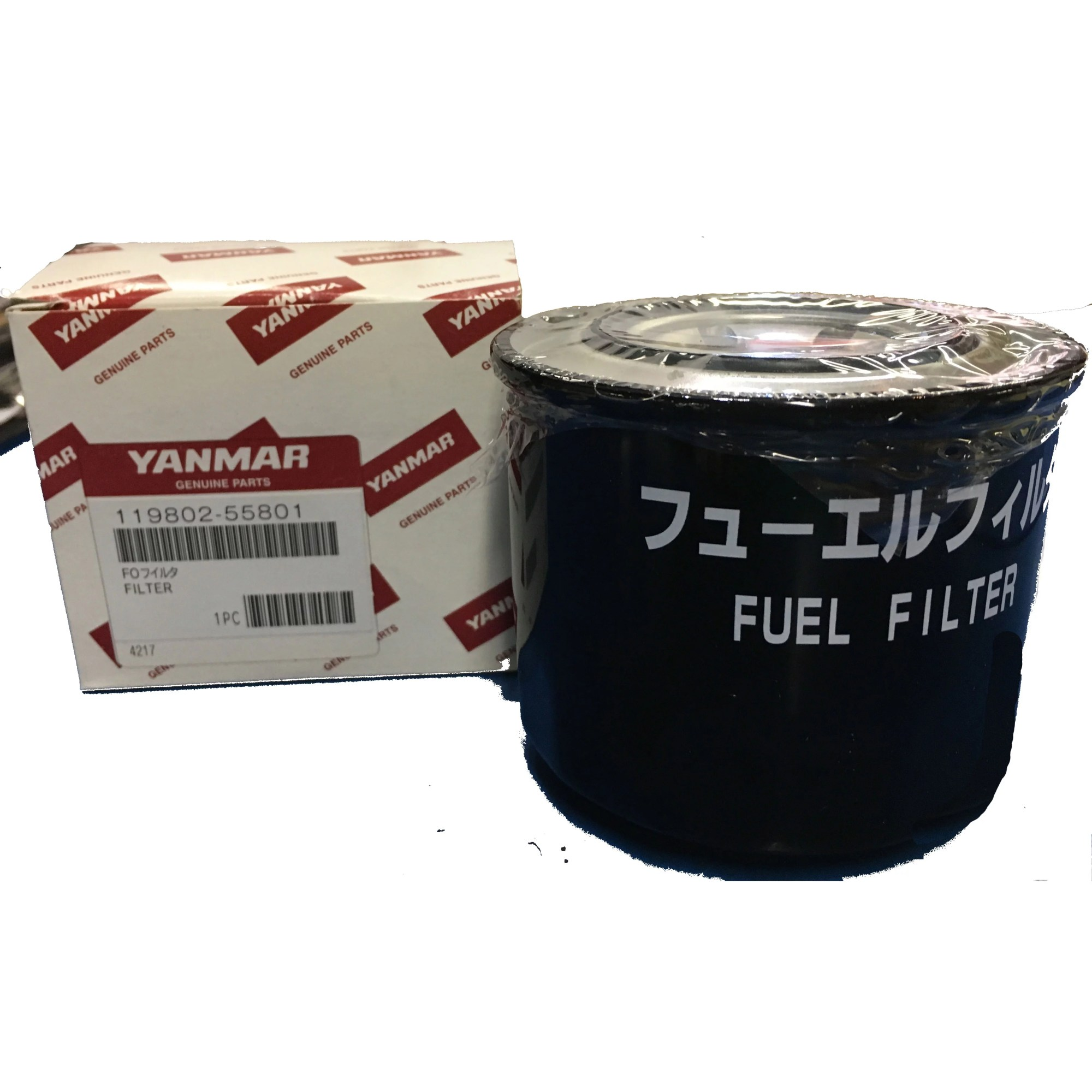 hight resolution of yanmar 119802 55810 119802 55801 fuel filter