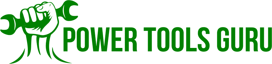Power Tools Guru Logo Green