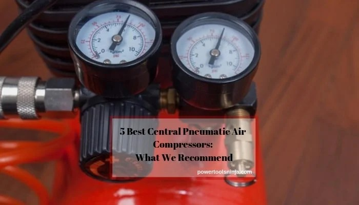 Central Pneumatic 6 Gallon Air Compressor