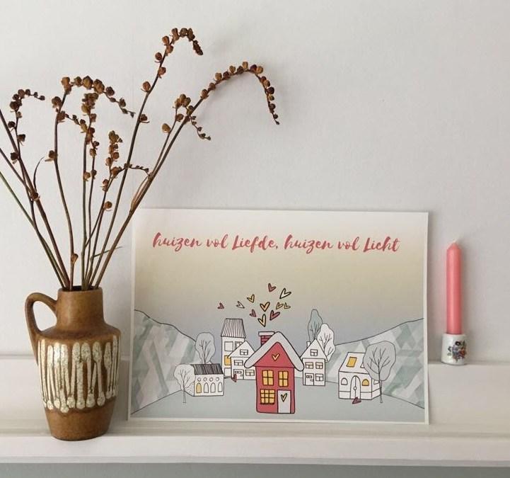 Nu al huizen vol liefde, huizen vol licht