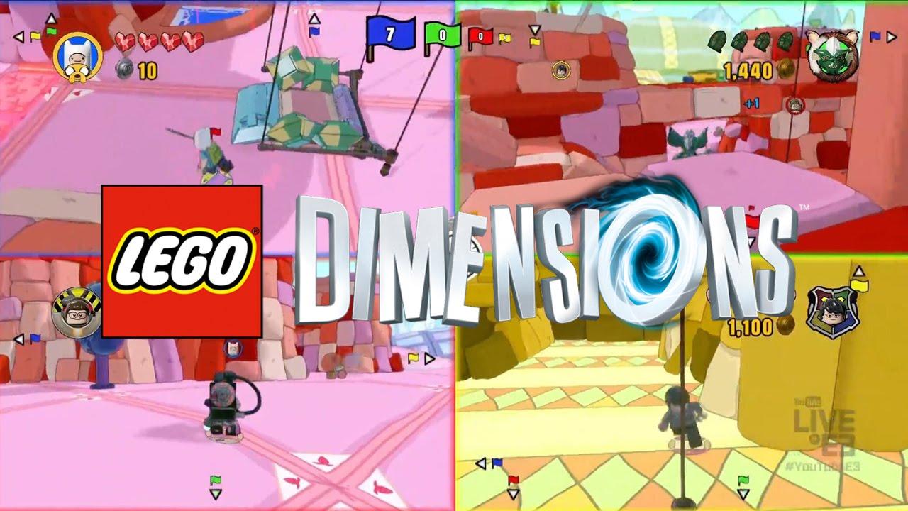 LEGO Dimensions Battle Arena pits brick against brick