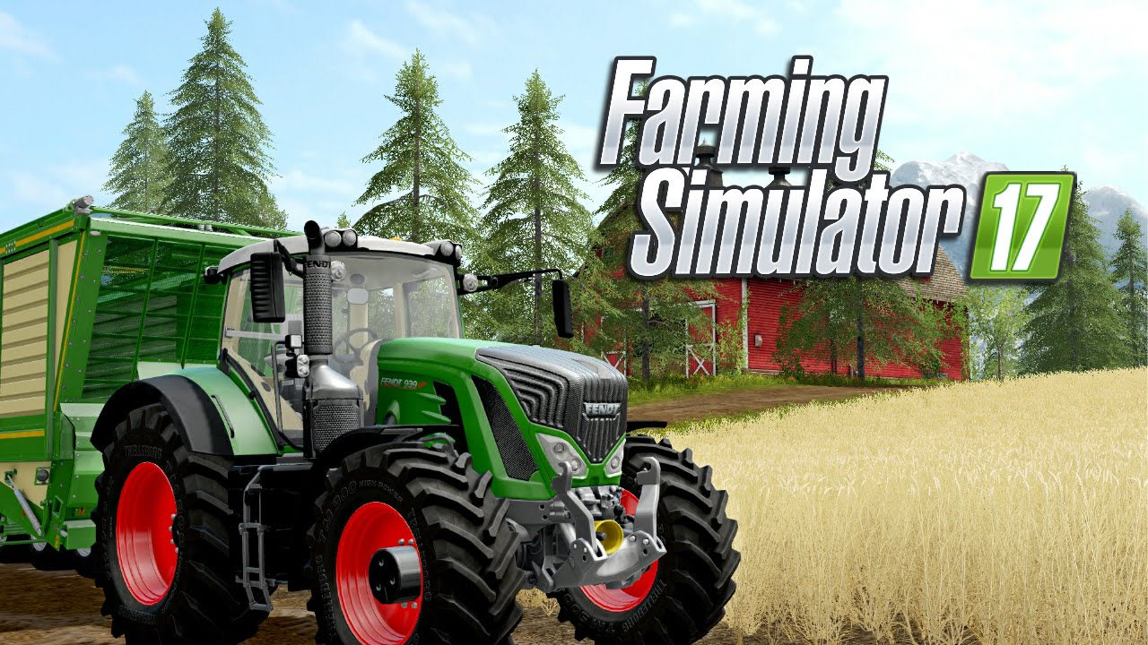 Farming Simulator 17 shows off its mad train skills