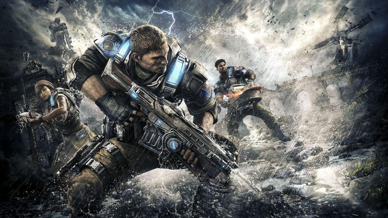 <h1> Gears of War 4 <br> <h3> | Just don&#039;t call him Gear Head