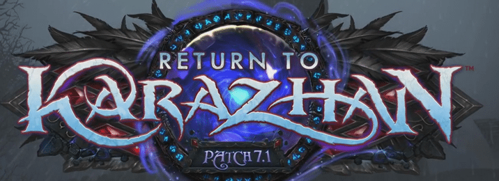 """Are you ready to """"Return to Karazhan?"""""""