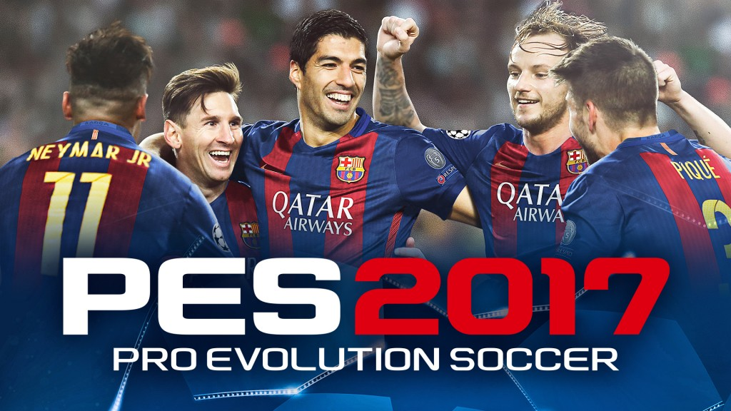 PES 2017 Data Pack 1.0 is now available