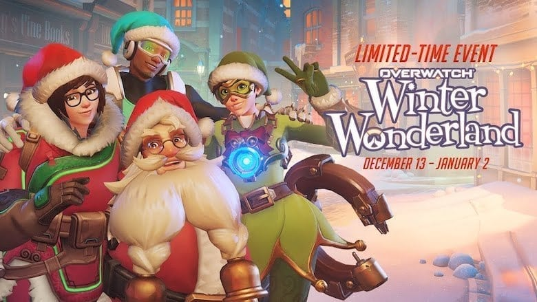 Overwatch's Winter Wonderland skins ranked as Christmas movies
