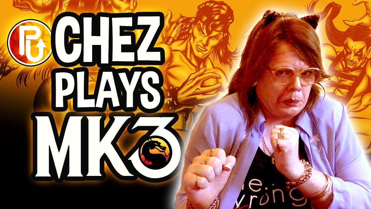 Cherylyn Barnes plays Mortal Kombat 3 for PowerUp!