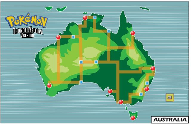 Incredible pixel art of the first 151 Pokèmon re-imagined for Australia