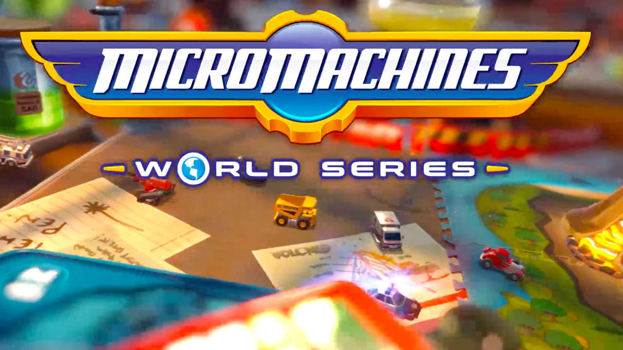 Micro Machines World Series' second trailer will take you back