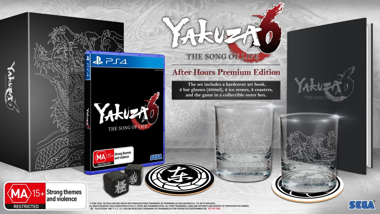 Yakuza 6: The Song of Life dated in Australia, Premium Edition revealed