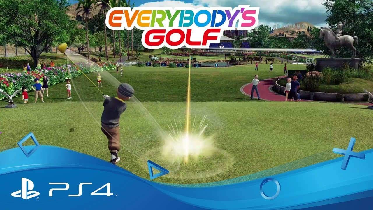 Everybody's Golf is teeing off for PlayStation Fore tomorrow