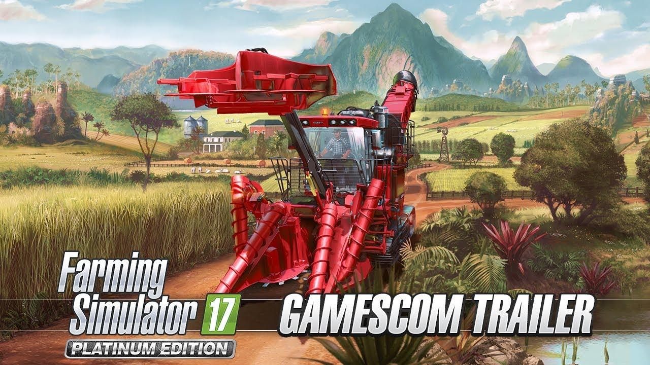 Farming Simulator 17 Platinum Edition promises to be the ultimate farming sim