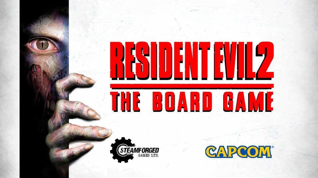 Resident Evil 2 Board Game heads to Kickstarter, funded in an hour