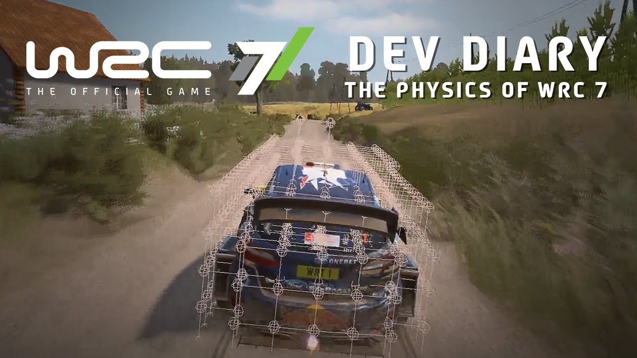 Watch this trailer and learn everything about WRC 7's in-game physics