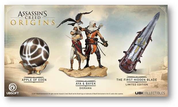 Assassin's Creed Origins collectible figurines available for pre-order