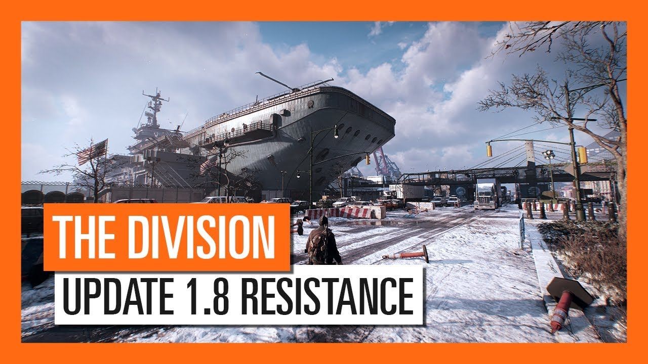 The Division's free update 1.8 adds two new game modes