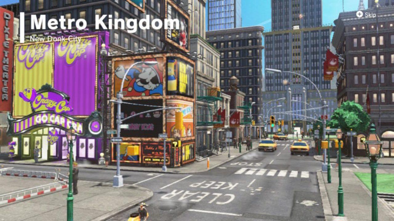 Super Mario Odyssey New Donk City Moons