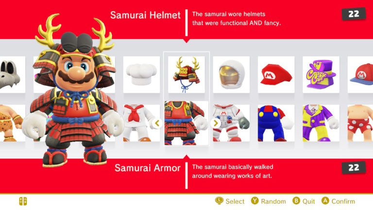Super Mario Odyssey Guide – How Many Costumes are there in the game?