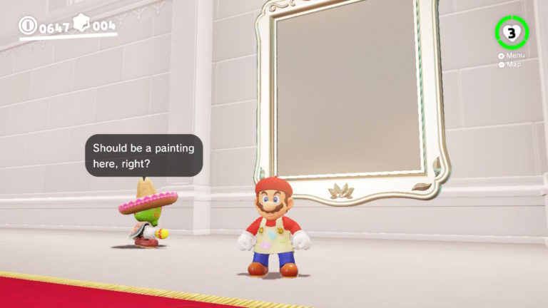 Super Mario Odyssey Guide – What are the Paintings for?