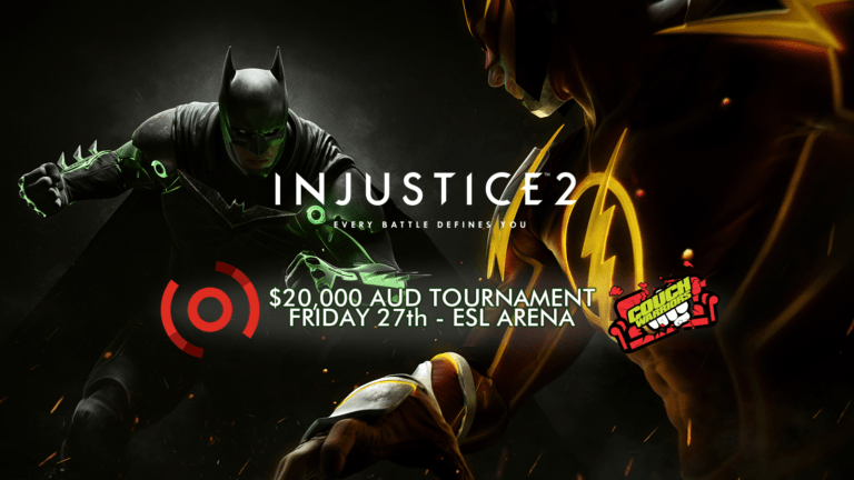 PAX Aus Injustice 2 tournament is happening this weekend
