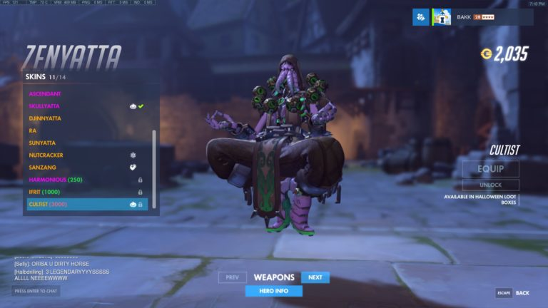 Overwatch Halloween Terror is live, all skins revealed   PowerUp!