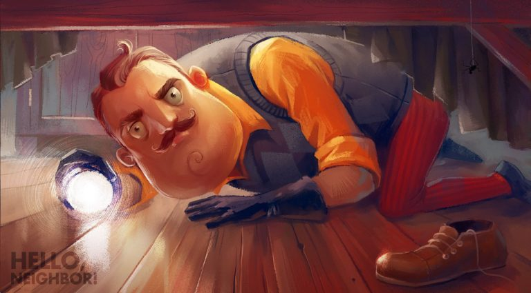 Hands-on with Hello Neighbor