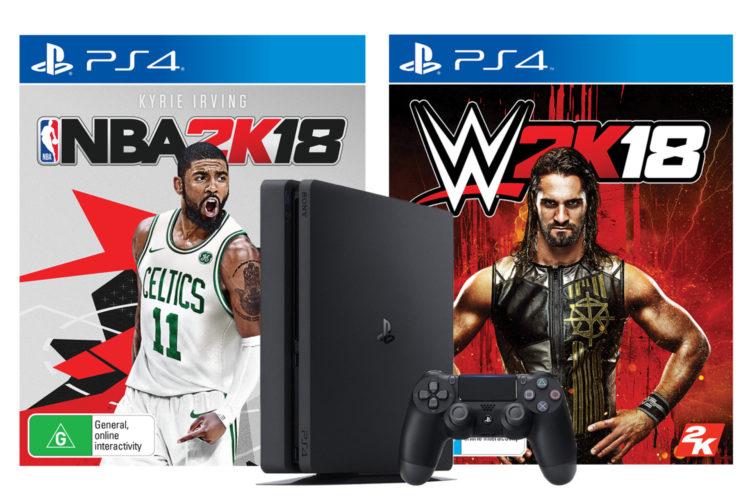 Win a copy of WWE 2K18 on Xbox One and NBA 2K18 on PS4