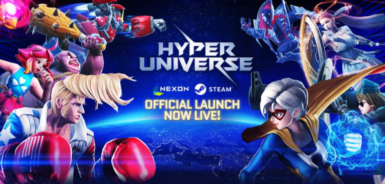 Win 1 of 6 free-to-play brawler Hyper Universe MVP codes