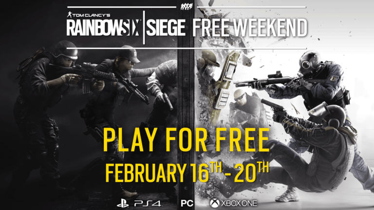 "Rainbow Six Siege free to play weekend comes ahead of the release of ""Operation Chimera"""