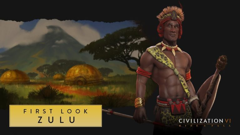 Get your first look at Shaka the Zulu in Civilization VI: Rise and Fall