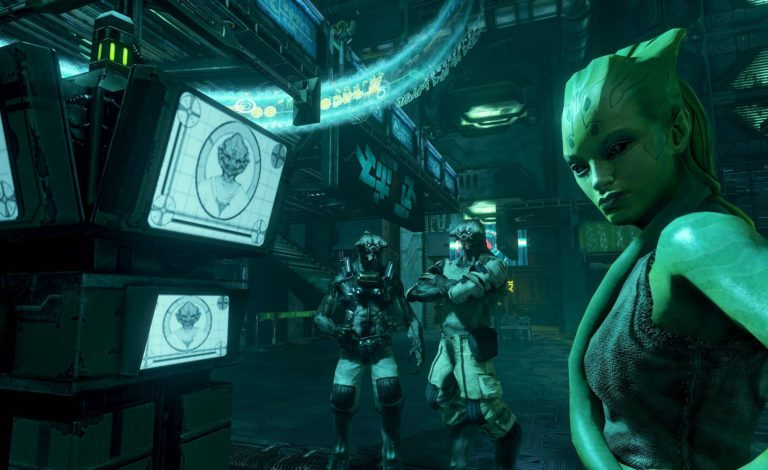 Gameplay footage from Humanhead's cancelled Prey 2 released