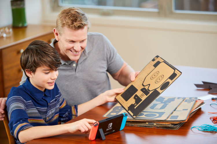 Nintendo Labo Toy-Con Garage mode lets players create their own special ways to play