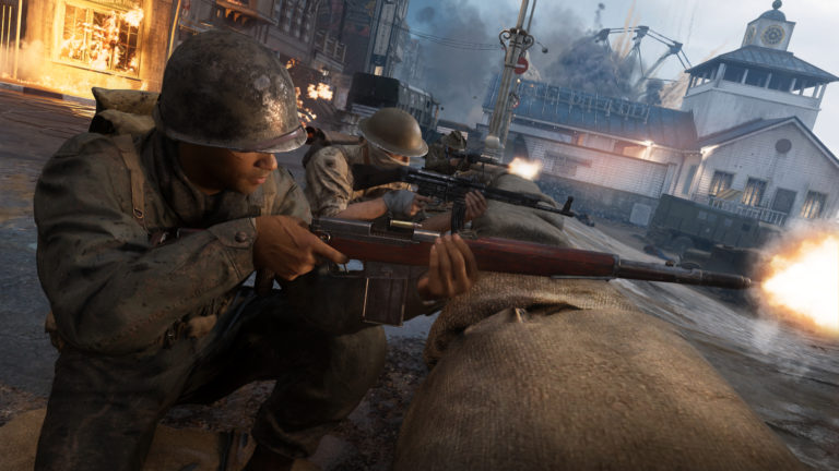 Call of Duty WWII The War Machine DLC available now on PS4
