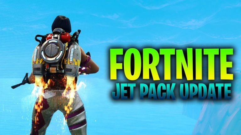 The Jetpack will be added to Fortnite soon