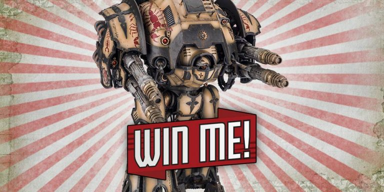 Forge World is giving fans a chance to Win a Forge World Knight
