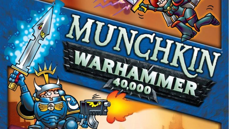 Steve Jackson Games and Games Workshop team up for Munchkin Warhammer 40K
