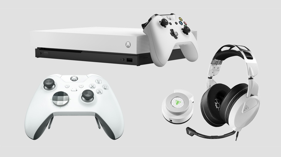Microsoft announces first ever white Xbox One X and Xbox Elite Wireless Controller