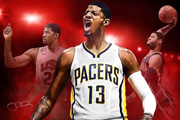 According to 2K, Paul George is the best NBA 2K player in the NBA