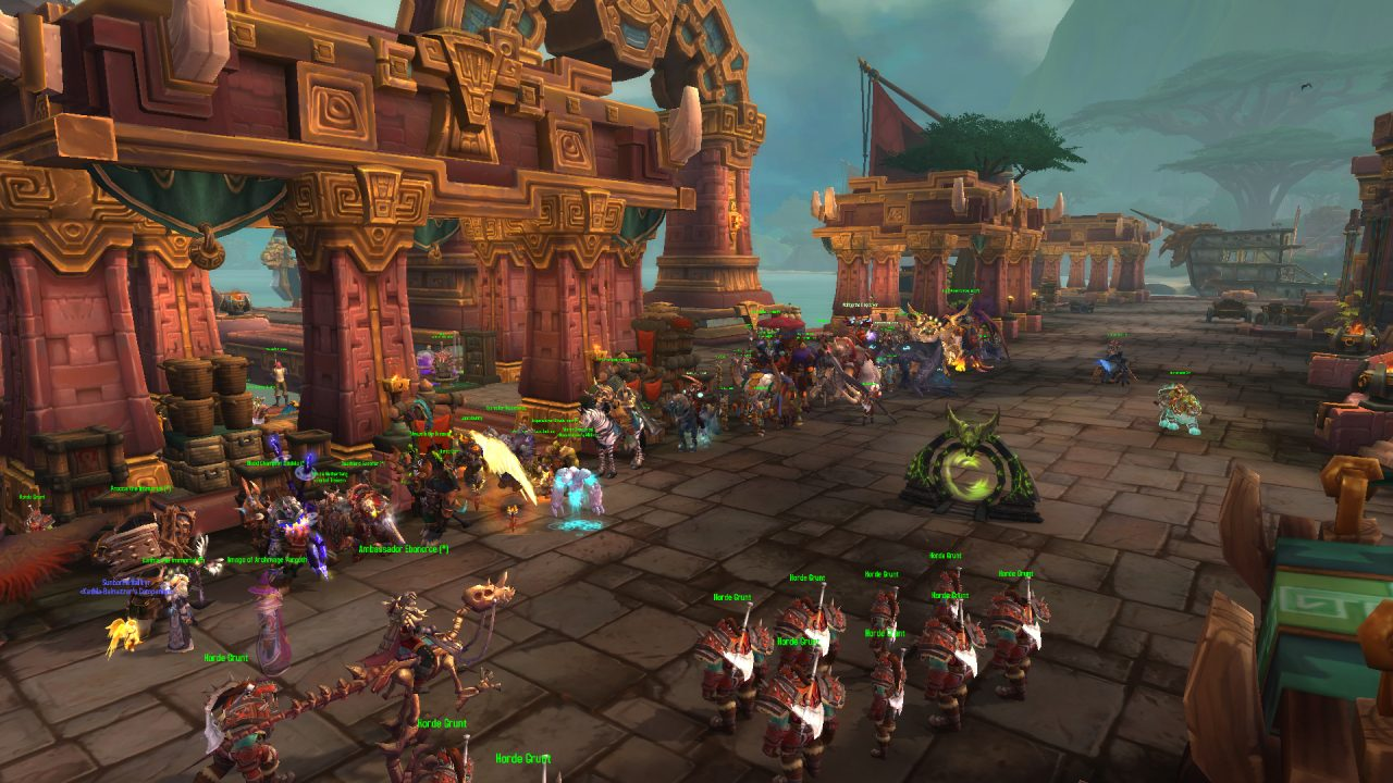 World of Warcraft: Battle for Azeroth Warfronts