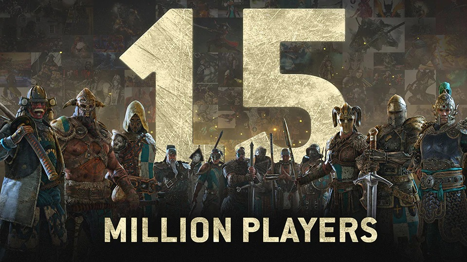 For Honor has surpassed 15 million global players, Marching Fire launches next week