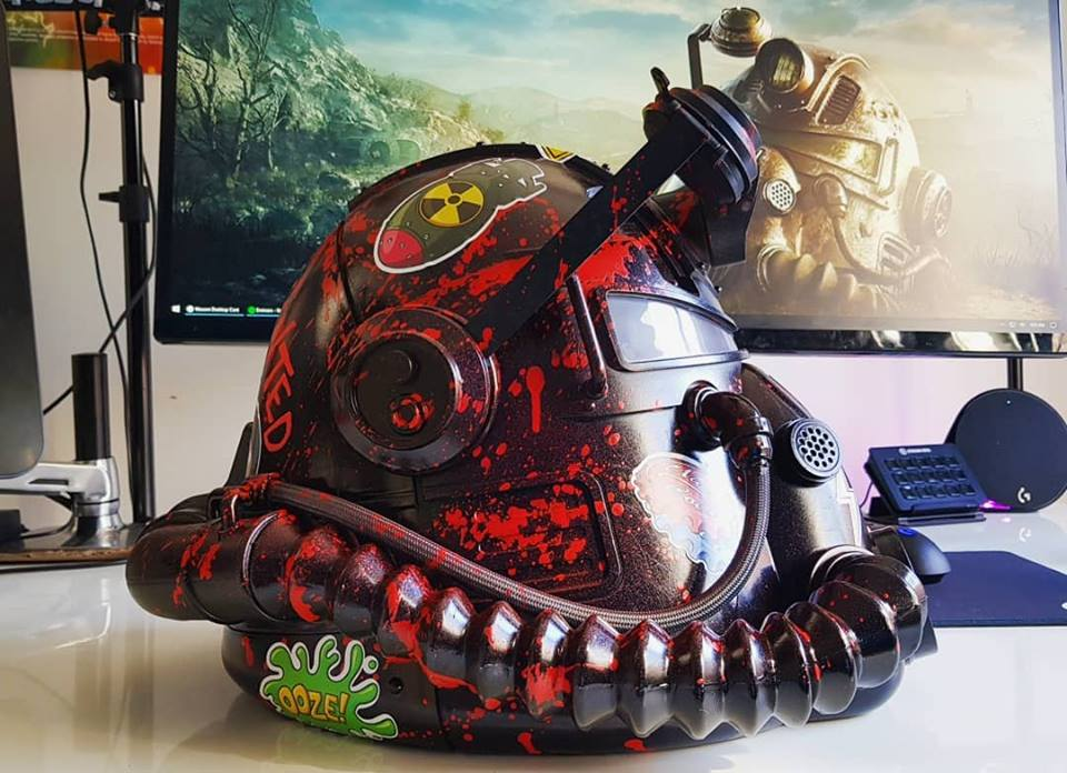Bethesda, Microsoft and Hypebeast team up for custom Fallout 76 #HelmetsForHabitat