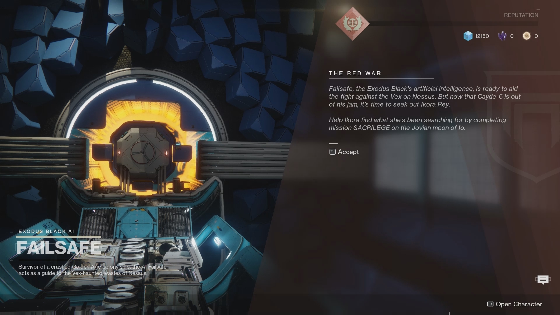 Destiny 2 - The Problem of Impermanence and Those We've Left
