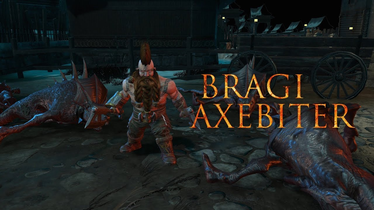 Warhammer Chaosbane introduces the Dwarf Slayer; Bragi Axebite