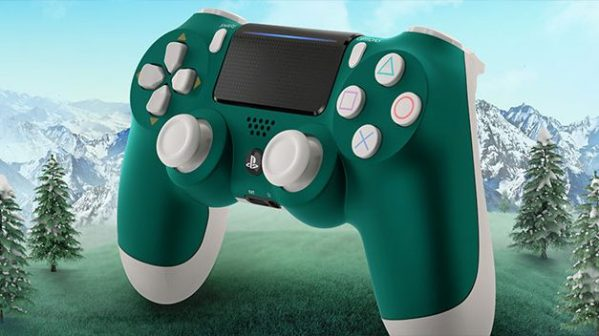 The Special Edition Alpine Green DualShock 4 is coming in April and Looks Incredibly Good