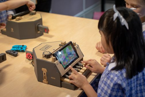 Nintendo Australia has launched an Australian-first Toy-Con focused school program