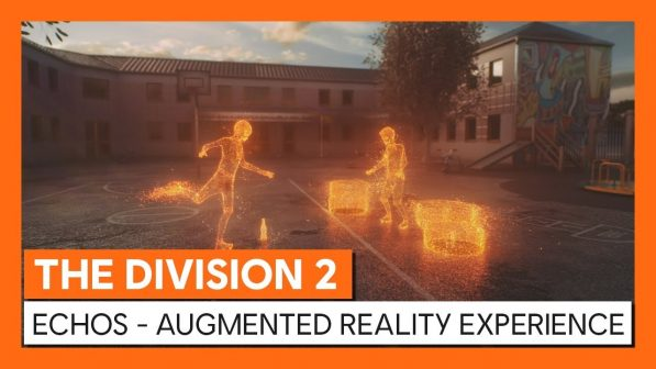 The Division 2 Echo Experience is an AR Game for Facebook Messenger