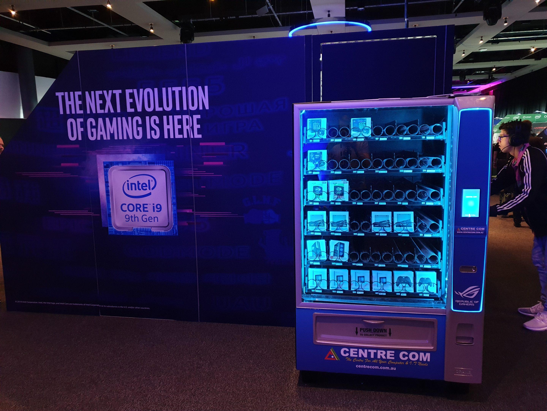 IEM Sydney has a PC parts vending machine