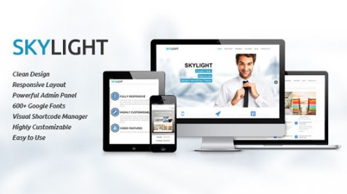 Skylight | Clean and Responsive Multipurpose Theme
