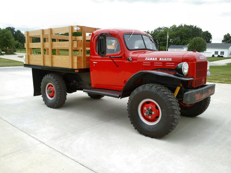 51 Dodge Power Wagon